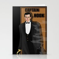 captain hook Stationery Cards featuring captain hook by snsemstlcp