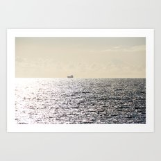Journey to Horizon 2.0 Art Print