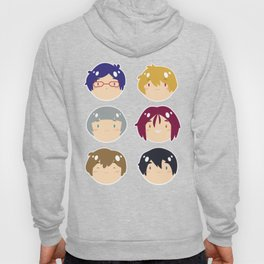 free! ball-faces Hoody