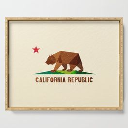California 2 (rectangular version) Serving Tray