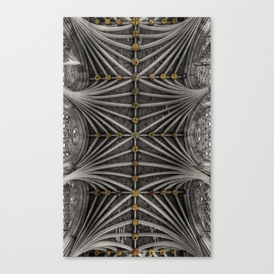 Ceiling bosses Canvas Print
