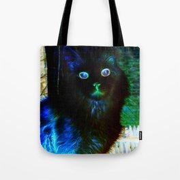 Spooky Cat Tote Bag
