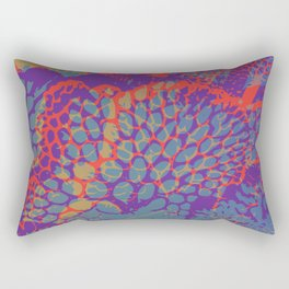 psychedelic beauty Rectangular Pillow