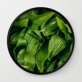 Some Leafy Stuff Wall Clock