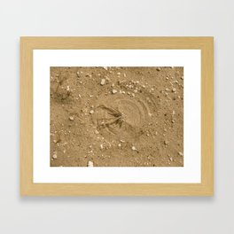 """""""The Power of Wind"""" Framed Art Print"""