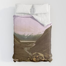 Between Two Mountains | Photography Comforters