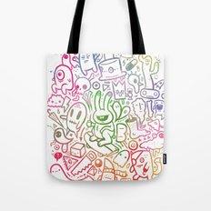 stuff (colorful version) Tote Bag