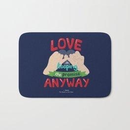 Love is... Bath Mat