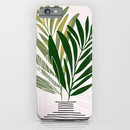 Olive Branches / Contemporary Botanical Art iPhone Case