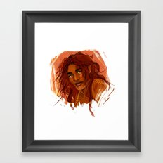 Etre roi Framed Art Print