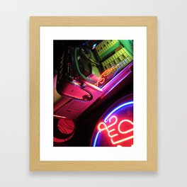 Jukebox Framed Art Print
