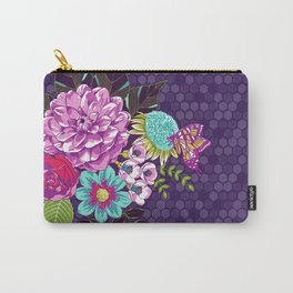 Bloomin' Beauties Violet Carry-All Pouch