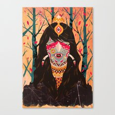 The Tree Witch Canvas Print