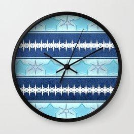 Winter patterns... Wall Clock