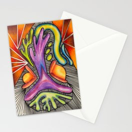 Eat The Worm - Mazuir Ross Stationery Cards