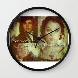 Will, Jem and Tessa Wall Clock