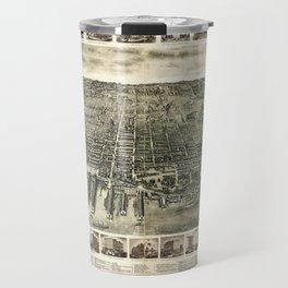 City of Hoboken, New Jersey (1904) Travel Mug