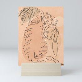 Tiger tamer Mini Art Print