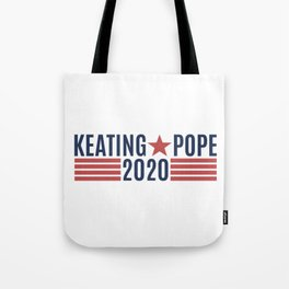 Keating Pope 2020 Tote Bag