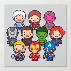 Assemble! Canvas Print