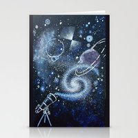 science Stationery Cards featuring Science by Elisa Gandolfo