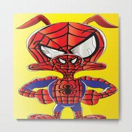 Spider Verse Ham Metal Print