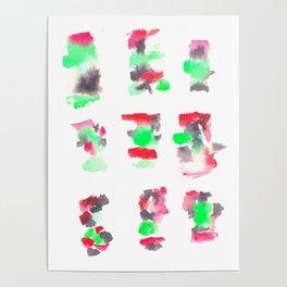 160122 Summer Sydney 2015-16 Watercolor #88 Poster