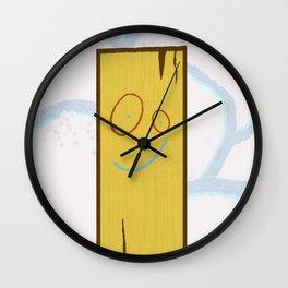 PLANK Wall Clock