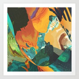 Sonic morning blast Art Print