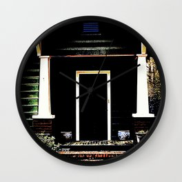 Side Stoop 975 Wall Clock