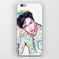 shinee iPhone & iPod Skins featuring SHINee Taemin Colorful by sophillustration