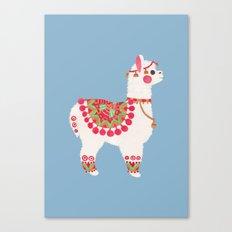 The Alpaca Canvas Print
