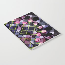 Retro Rose Box Notebook