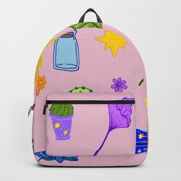 Pink Flash Sheet Backpack