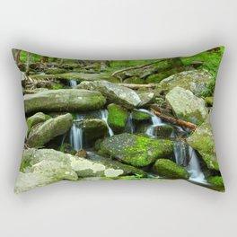 Running Water Rectangular Pillow