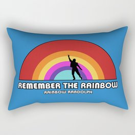 Remembering Rainbow Randolph Rectangular Pillow