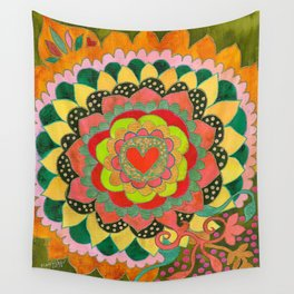 Feral Heart #01 Wall Tapestry
