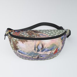1935 Summer Holiday Fashion Fanny Pack