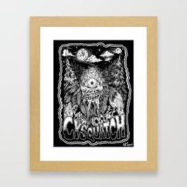 cysquatch Framed Art Print