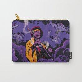 Jimi Hendrix Ufo smoke Carry-All Pouch