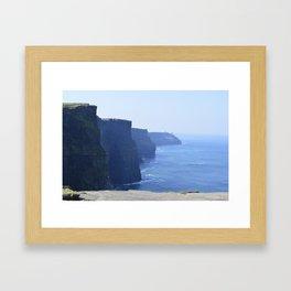 Cliffs of Moher in Ireland Framed Art Print