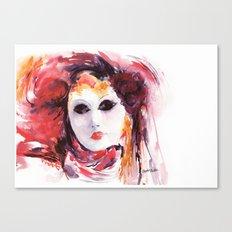 Carnival ... Mask Canvas Print