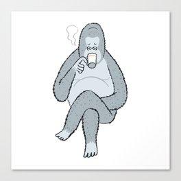 Coffee break... Canvas Print