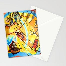 Wassily Kandinsky Fugue Landscape Stationery Cards