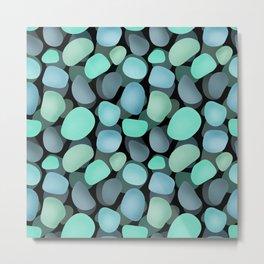 Sea pebbles . No. 1 Metal Print
