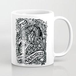 Gruss Vom Krampus Coffee Mug