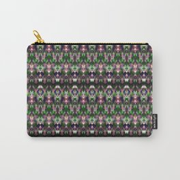 Ethnic ornament in green, pink and blue Carry-All Pouch