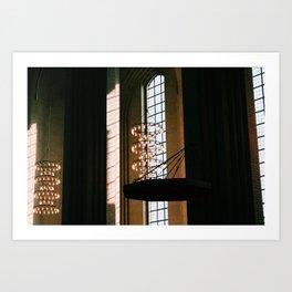 Copenhagen Church Art Print