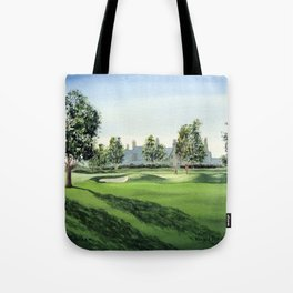 Winged Foot Golf Course New York Tote Bag