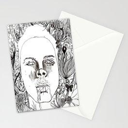 Garden Variety Pestilence (Self Portrait) Stationery Cards